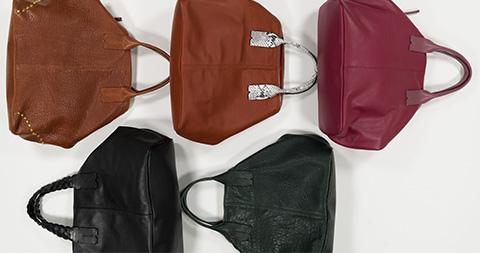 Sac shopper souple cuir personnalisable - Chiara
