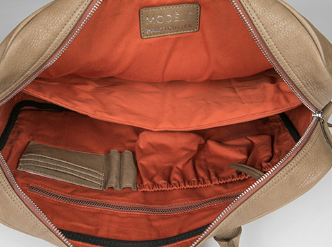 Sacoche en cuir personnalisable - Malo