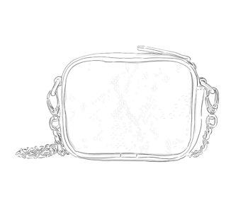 Petit sac en cuir personnalisable - Ella personnalisable Modèle Particulier