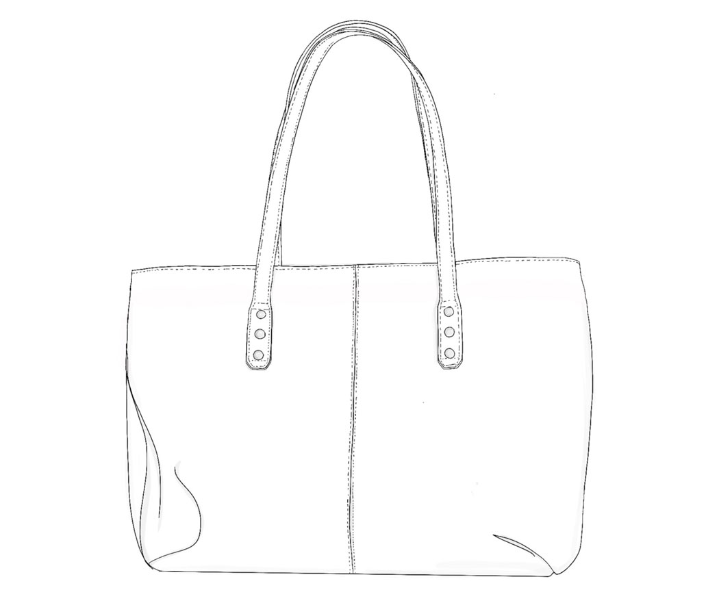 Sac-cabas-cuir-personnalisable-illustration-juliette