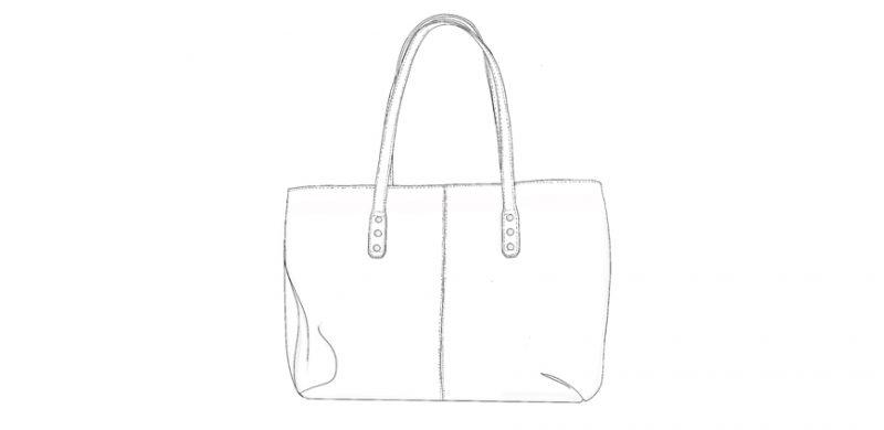 Sac-cabas-cuir-personnalisable-illustration-juliette