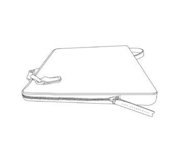 sac ordinateur 15 pouces cuir personnalisable Modèle Particulier