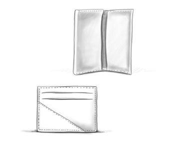 Porte Carte en cuir personnalisables Modèle Particulier
