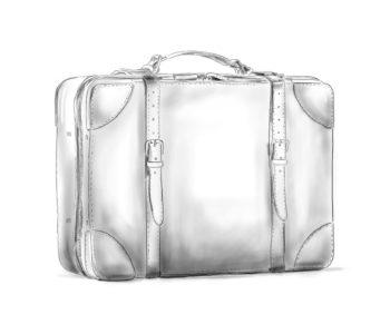 Bagages souples cuir personnalisable Modèle Particulier