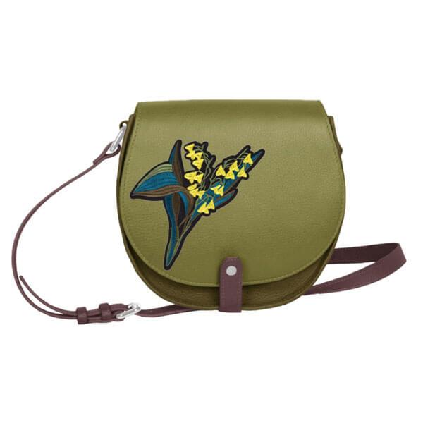 Femme – Porté épaule vert patch