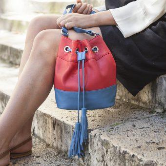 marier les couleurs pour créer son sac en cuir personnalisé