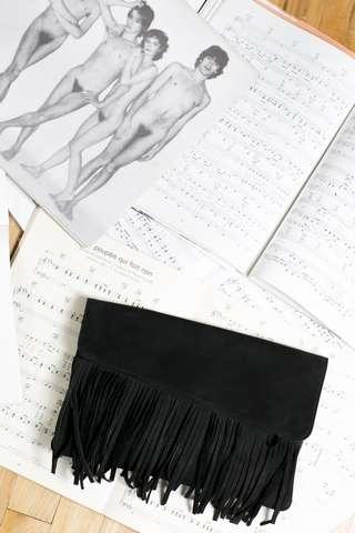 Pochette en cuir personnalisable