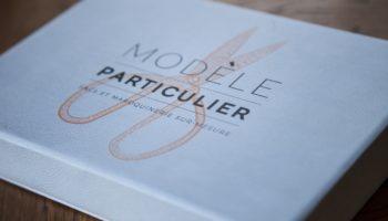coffret cadeau Modèle Particulier, sac en cuir personnalisé fabriqué sur mesure