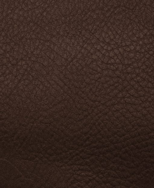 echnatillon cuir grainé chocolat pour sac personnalisable