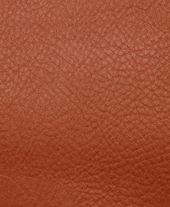 echantillon cuir grainé cognac pour sac personnalisable