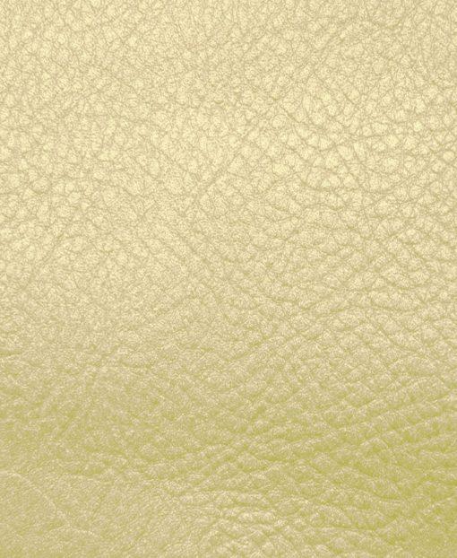 Echantillon cuir métallisé or pour sac personnalisable Modèle Particulier