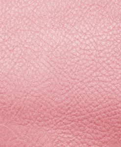 Echantillon cuir grainé rose pour sac personnalisable Modèle Particulier
