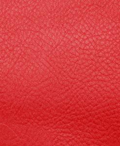 Echantillon cuir grainé rouge pour sac personnalisable Modèle Particulier