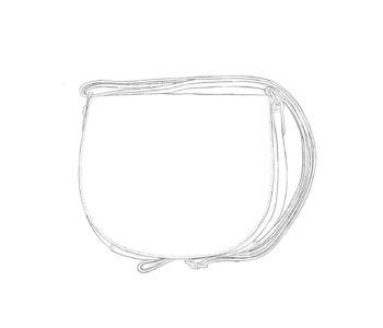 Petit Porté Epaule en cuir personnalisable NINA Modèle Particulier