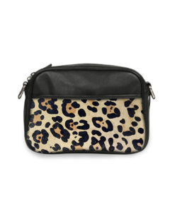 Sac Caméra JADE Cuir impression animale personnalisable