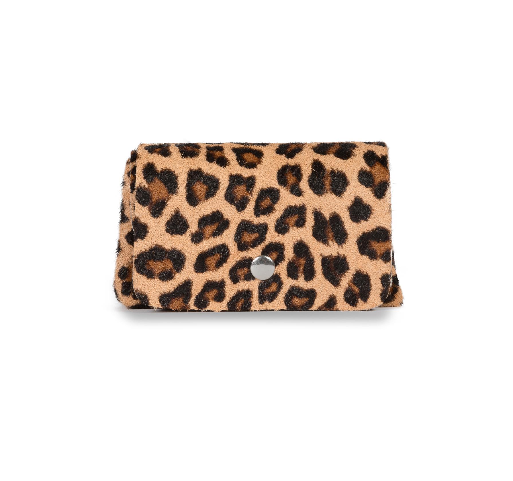 1aa77fe0a42c Porte Monnaie à Soufflets INES Cuir impression léopard