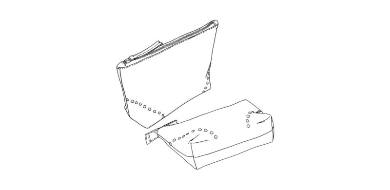 pochettes trousses en cuir personnalisables Modèle Particulier