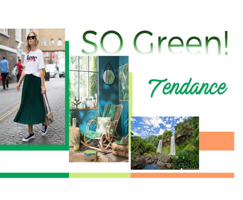 Inspiration Vert Jungle pour créer un sac personnalisé Modèle Particulier
