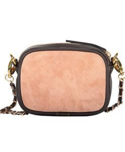 Modele-particulier-petit-sac-porte-epaule-cuir-personnalisable-Ella-_0007_cuir-graine-chocolat-velours-rose-poudre