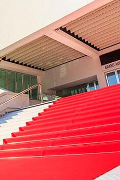 Marches Cannes Festival Modèle Particulier