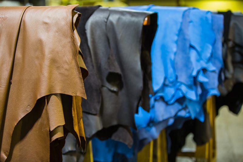 peau de cuir pour fabrication de sac à main