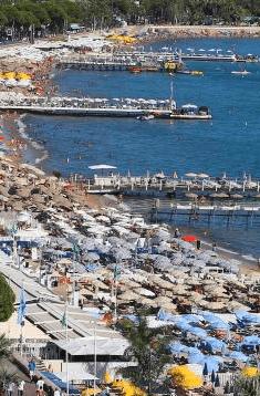Vue ville Cannes festival Modèle Particulier